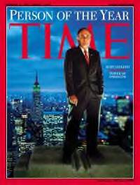 Rudy Giuliani, 2001 Time Person of the Year.